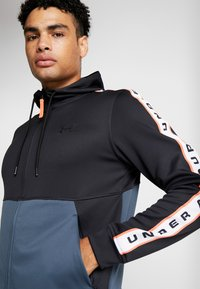Under Armour - UNSTOPPABLE TRACK JACKET - Treningsjakke - black/wire - 5