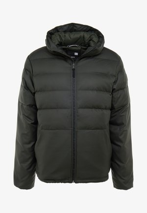 SPORTSTYLE HOODED JACKET - Bunda z prachového peří - baroque green/black