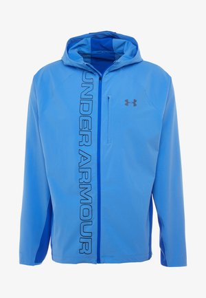 QUALIFIER OUTRUN THE STORM JACKET - Laufjacke - water/versa blue/reflective