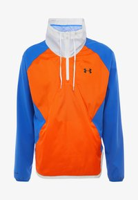 Under Armour - ZIP JACKET - Training jacket - versa blue/ultra orange/onyx white - 3
