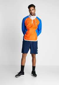 Under Armour - ZIP JACKET - Training jacket - versa blue/ultra orange/onyx white - 1