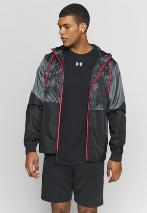 PROJECT ROCK FIELD HOUSE JACKET - Regenjacke / wasserabweisende Jacke - black/pitch gray