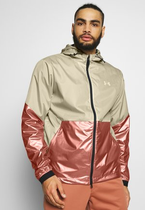 RECOVER FIELD HOUSE HOODED JACKET - Outdoor jakke - onyx white/cedar brown