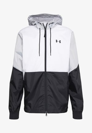 FIELD HOUSE JACKET - Waterproof jacket - white/black
