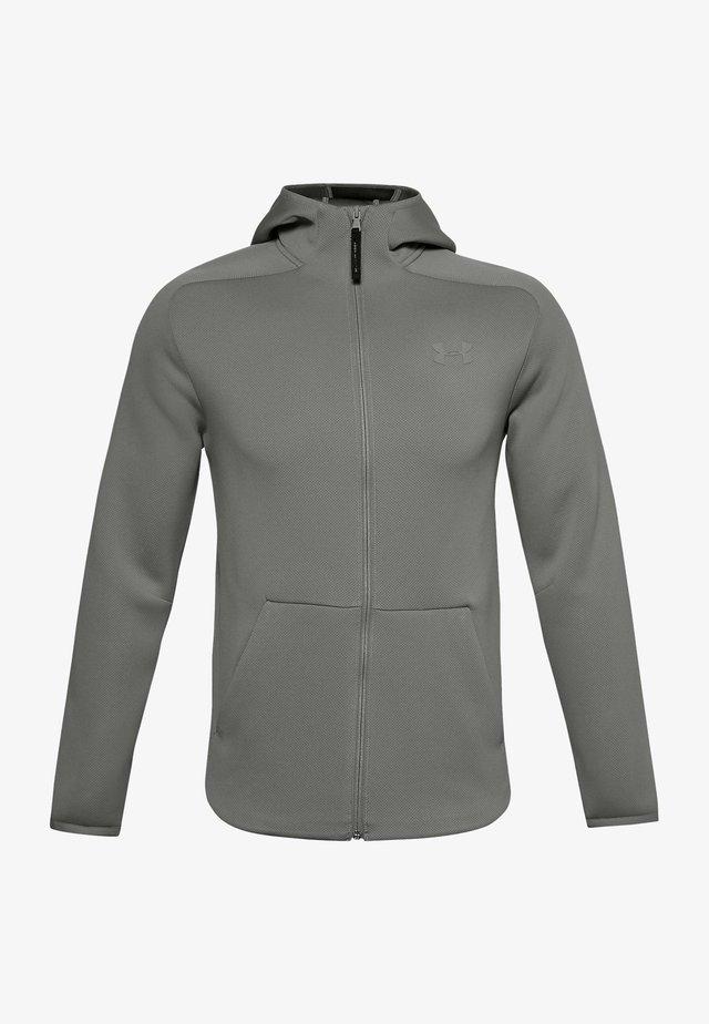 Training jacket - gravity green