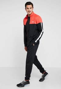 Under Armour - SPORTSTYLE JACKET - Verryttelytakki - martian red/black/white - 1