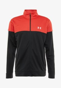 Under Armour - SPORTSTYLE JACKET - Verryttelytakki - martian red/black/white - 3