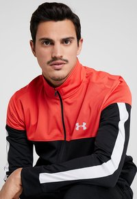 Under Armour - SPORTSTYLE JACKET - Verryttelytakki - martian red/black/white - 4