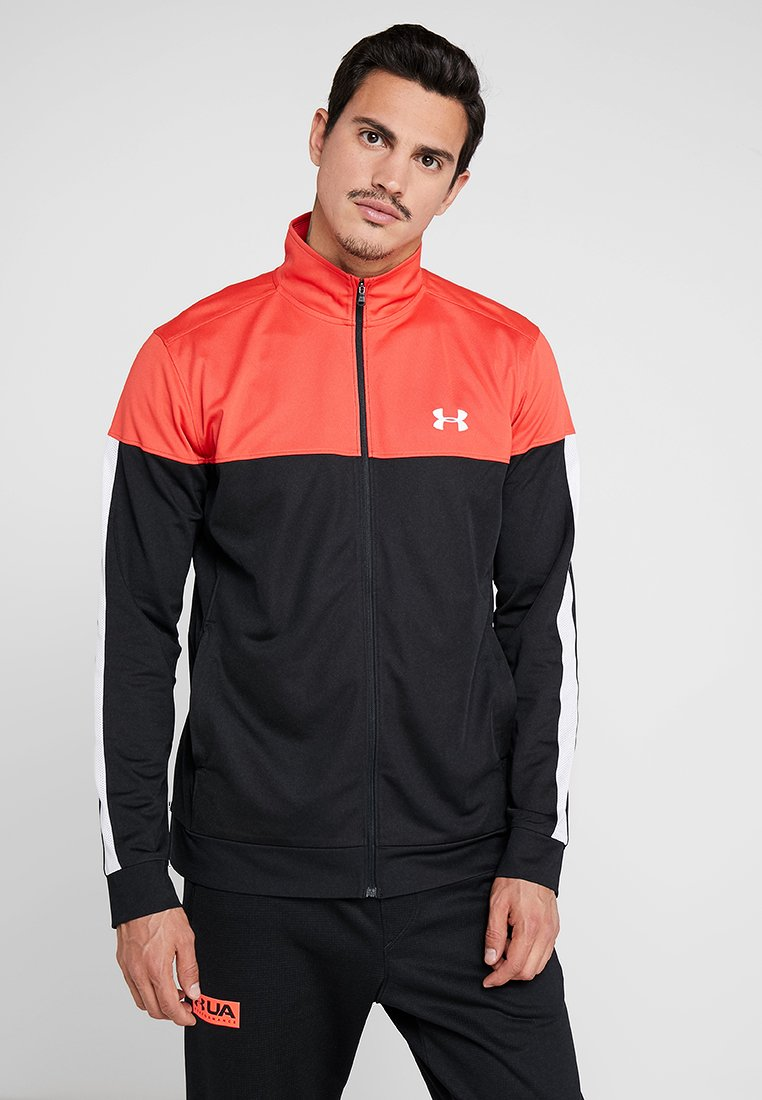 Under Armour - SPORTSTYLE JACKET - Træningsjakker - martian red/black/white