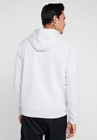 Under Armour - RIVAL HOODY - Hoodie - halo gray/black - 2