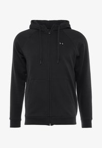 Under Armour - RIVAL  - Chaqueta de entrenamiento - black/black - 4