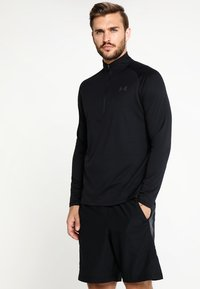 Under Armour - Sports shirt - black/charcoal - 0