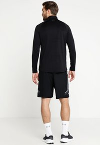 Under Armour - Sports shirt - black/charcoal - 2