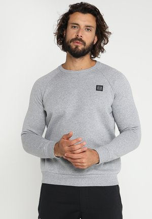 RIVAL CREW - Sweater - steel light heather/black