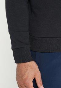 Under Armour - RIVAL CREW - Sweatshirt - black/black - 5