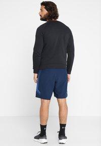 Under Armour - RIVAL CREW - Sweatshirt - black/black - 2