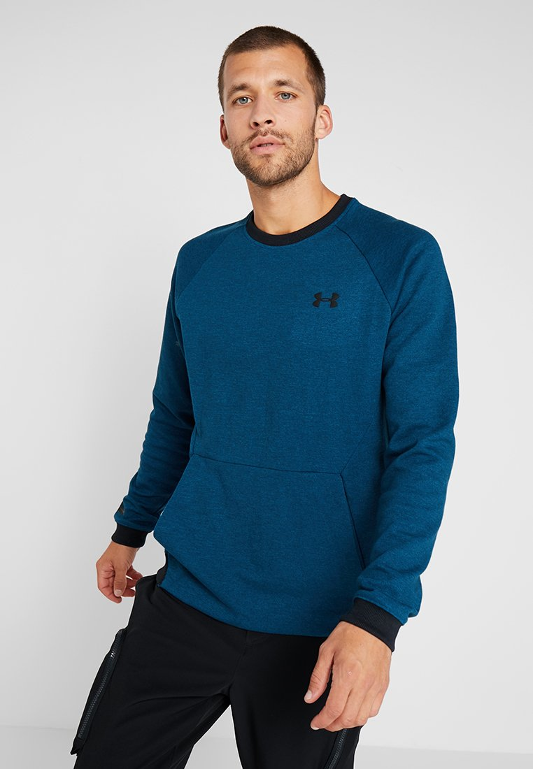 Under Armour - SPORTSTYLE CREW - Collegepaita - teal vibe/black