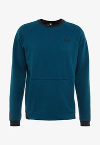 Under Armour - SPORTSTYLE CREW - Collegepaita - teal vibe/black - 5