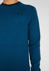 Under Armour - SPORTSTYLE CREW - Collegepaita - teal vibe/black - 6