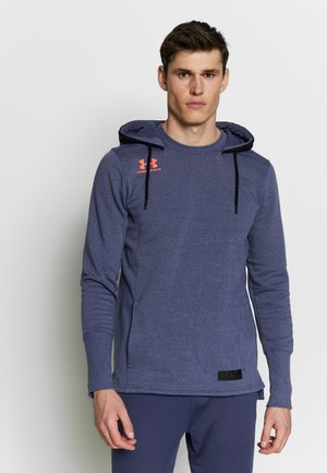 ACCELERATE OFF PITCH HOODIE - Hoodie - blue ink