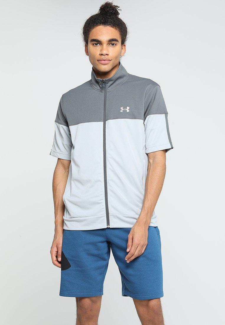Under Armour - SPORTSTYLE - Camiseta estampada - mod gray