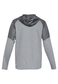 Under Armour - MK1 TERRY FZ HOODIE - Zip-up hoodie - grey - 1