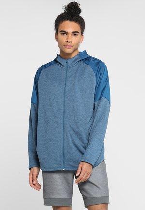MK1 TERRY FZ HOODIE - Zip-up hoodie - petrol blue