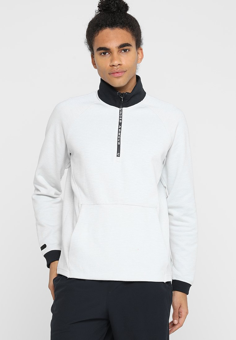Under Armour - UNSTOPPABLE KNIT  - Sudadera - onyx white/black