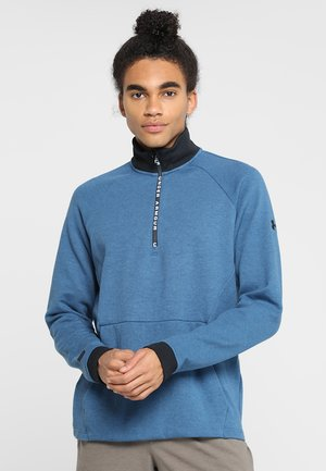UNSTOPPABLE KNIT  - Sweatshirt - petrol blue/black