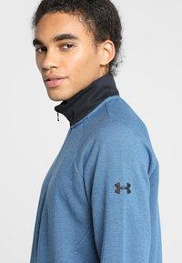 Under Armour - UNSTOPPABLE KNIT  - Sweatshirt - petrol blue/black - 4