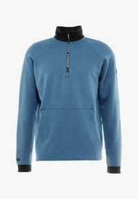 Under Armour - UNSTOPPABLE KNIT  - Sweatshirt - petrol blue/black - 5