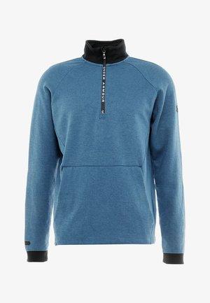 UNSTOPPABLE KNIT  - Sweatshirt - petrol blue/black