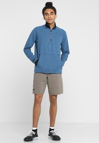 Under Armour - UNSTOPPABLE KNIT  - Sweatshirt - petrol blue/black - 1