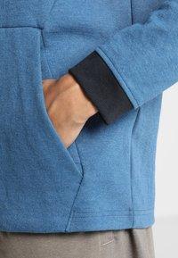 Under Armour - UNSTOPPABLE KNIT  - Sweatshirt - petrol blue/black - 6