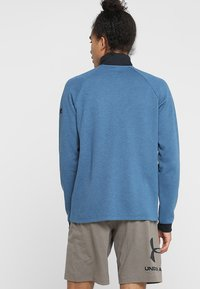 Under Armour - UNSTOPPABLE KNIT  - Sweatshirt - petrol blue/black - 2