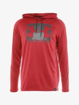 LIGHTER LONGER HOODIE - Top s dlouhým rukávem - aruba red/black