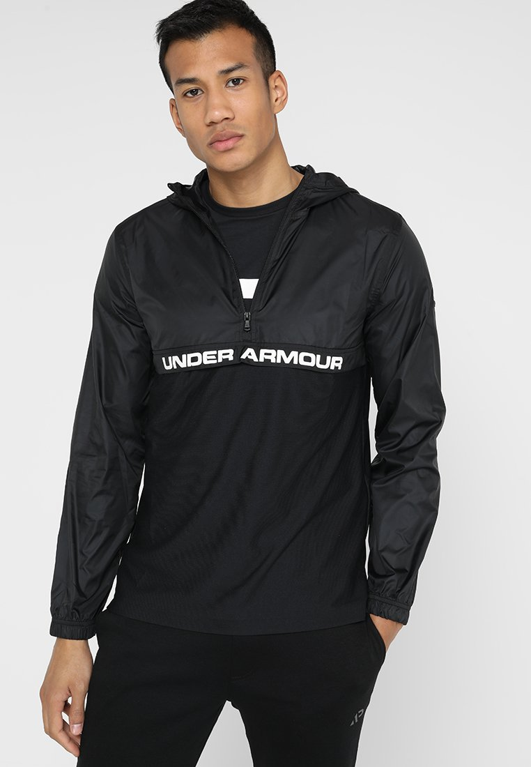 Under Armour - SPORTSTYLE LAYER - Training jacket - black/white