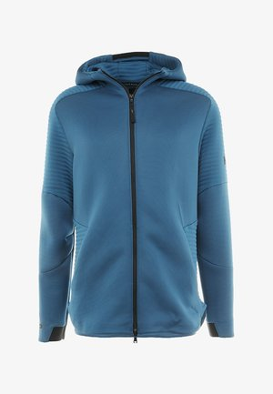 UNSTOPPABLE MOVE HOODIE - Hettejakke - petrol blue/thunder/black