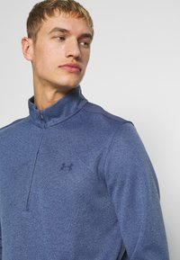 Under Armour - SWEATERFLEECE 1/2 ZIP - Sweatshirt - blue ink/academy - 5