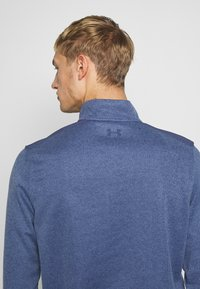 Under Armour - SWEATERFLEECE 1/2 ZIP - Sweatshirt - blue ink/academy - 3