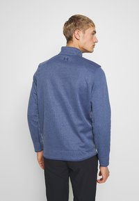 Under Armour - SWEATERFLEECE 1/2 ZIP - Sweatshirt - blue ink/academy - 2
