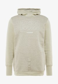 Under Armour - BASELINE  - Hættetrøjer - range khaki medium heather/onyx white