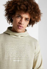 Under Armour - BASELINE  - Hættetrøjer - range khaki medium heather/onyx white - 3