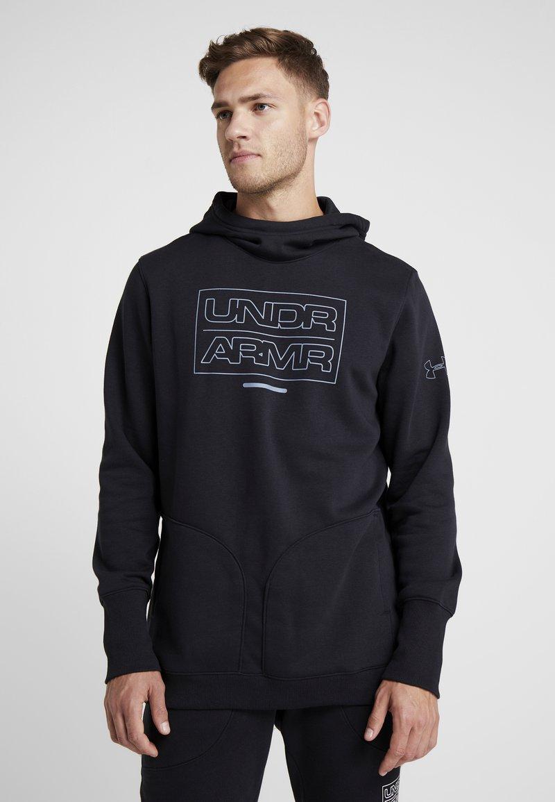 Under Armour - BASELINE  - Hættetrøjer - black/ash gray