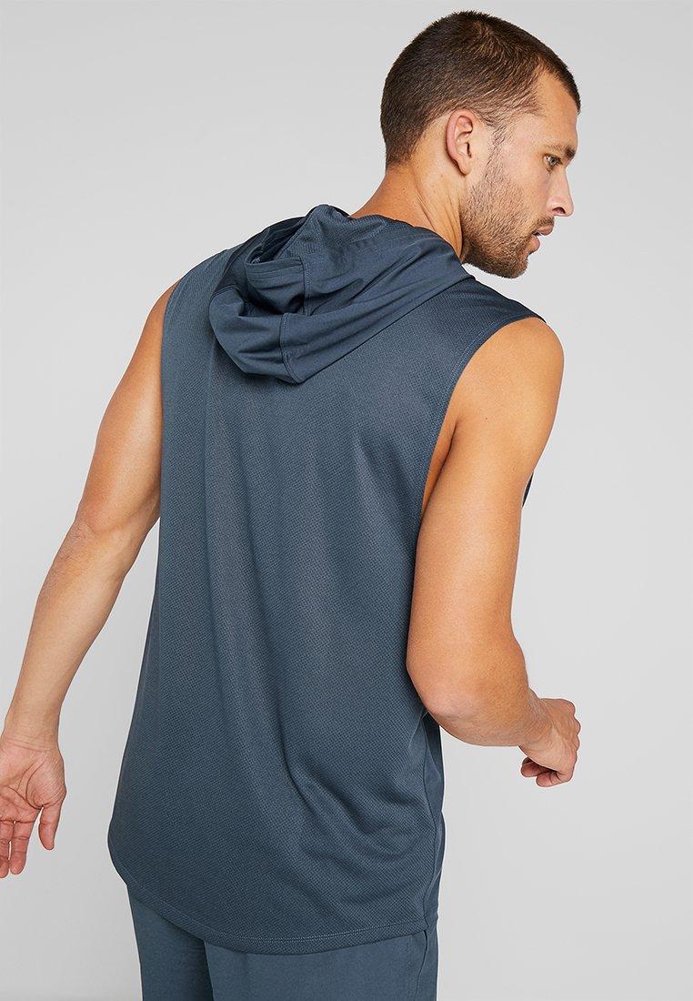 Under Armour - HOODIE - Camiseta de deporte - wire/black