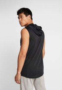 Under Armour - HOODIE - Camiseta de deporte - black/pitch gray - 2