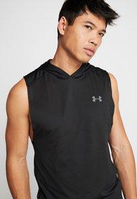 Under Armour - HOODIE - Camiseta de deporte - black/pitch gray - 5