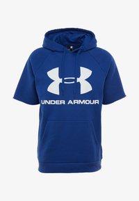 Under Armour - RIVAL FLEECE LOGO SS HOODIE - Hoodie - american blue/onyx white - 3