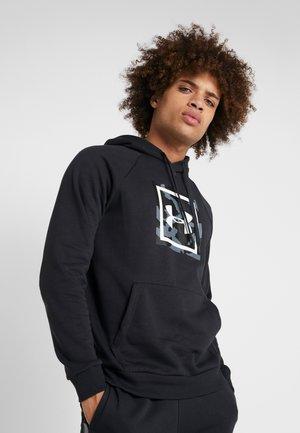 RIVAL PRINTED HOODIE - Hoodie - black/white