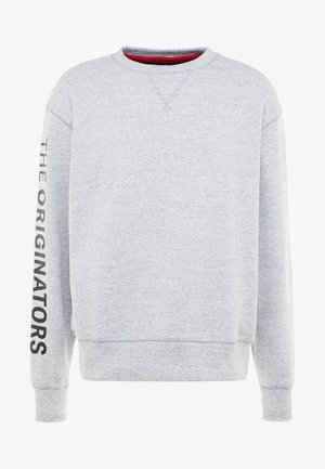 PERFORMANCE ORIGINATORS CREW - Sweatshirt - steel light heather/black